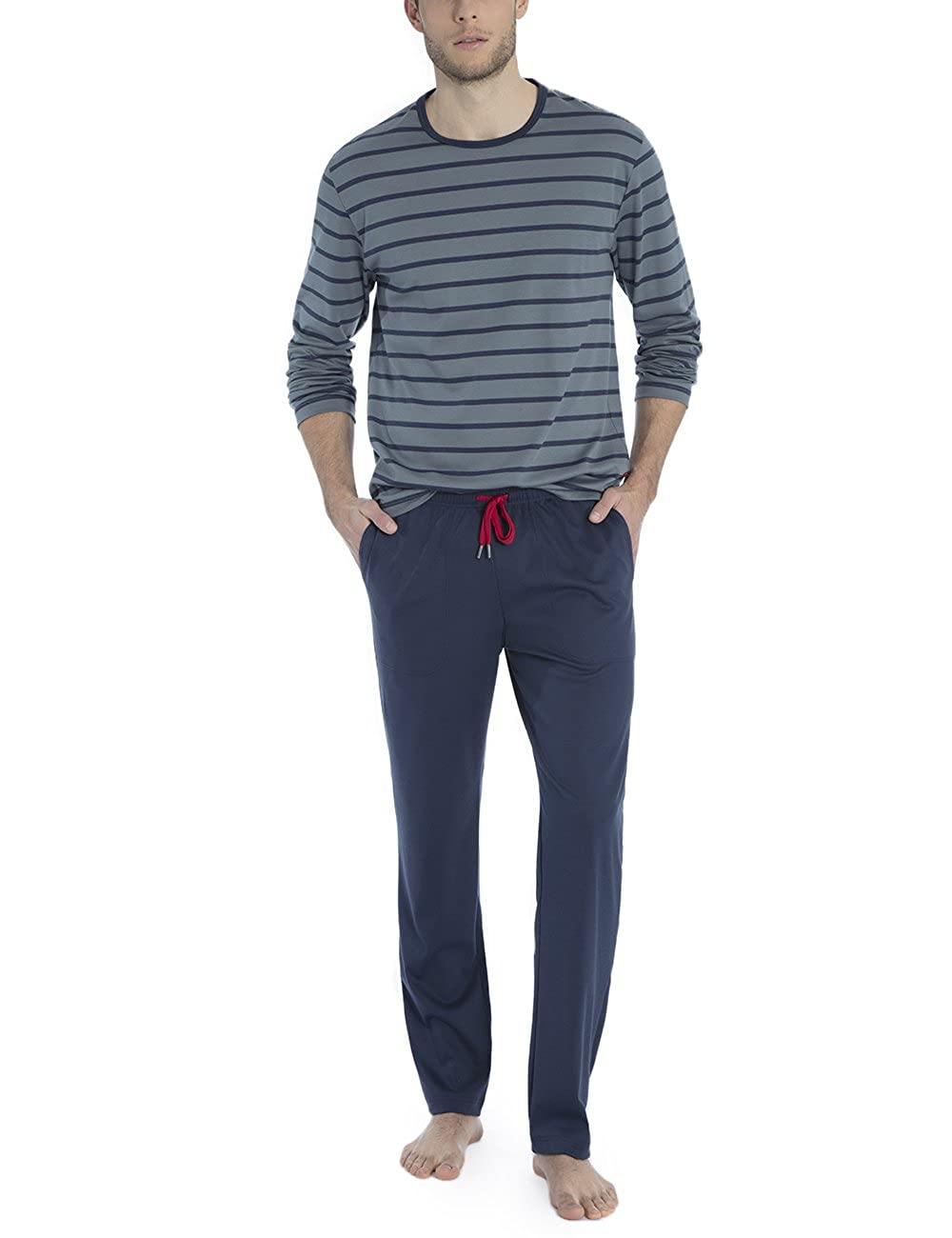 Calida Herren Zweiteiliger Schlafanzug Joris B079QF47X4 Schlafanzüge Won hoch geschätzt geschätzt geschätzt und weithin Grünraut im in- und Ausland Grünraut b34466