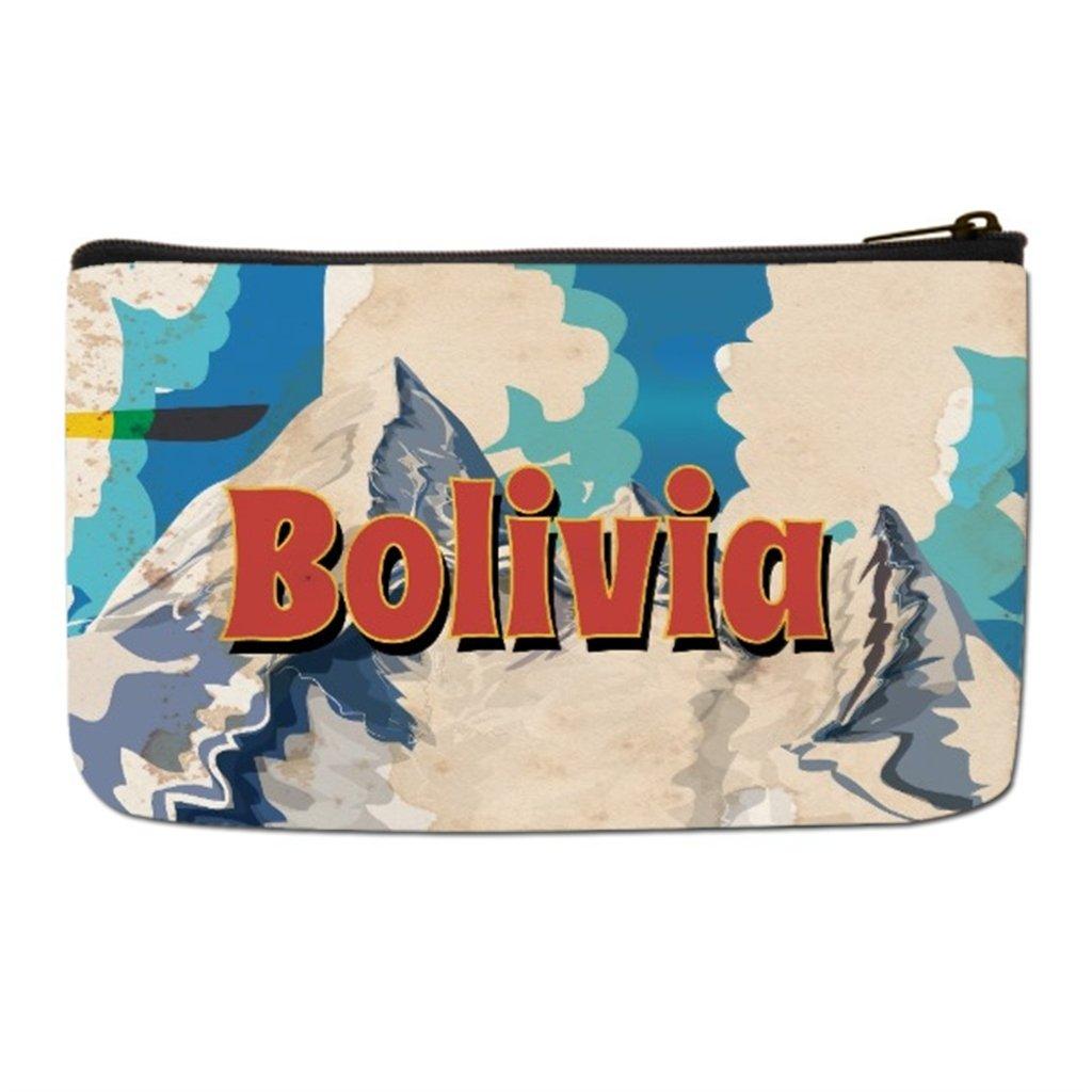 0610012a4454 Amazon.com : Lgtbg Makeup Travel Case Bolivia Vintage Travel Floral ...
