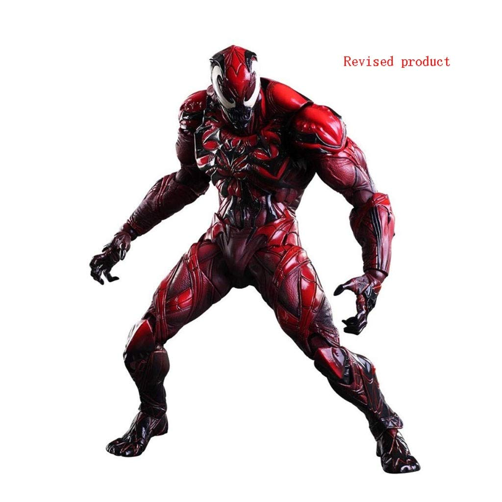 Carnage Action Figure Venom Red Variant Play Arts Kai Action Figure