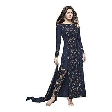 Amazon.com: Priyanka Bollywood Pant recto Salwar Kameez ...