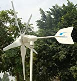 Windmax HY1000-5 1,000 Watt Max 24-Volt 5-Blade Residential Wind Generator Kit