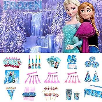 Amazon.com: Disney Frozen - Servilletas con 16 velas de ...