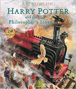 Resultado de imagen de harry potter and the philosopher's stone illustrated edition