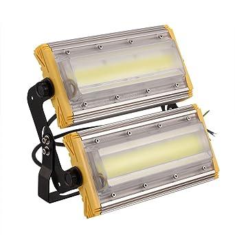 LED al aire libre proyector 100W lámpara de luz de inundación de ...