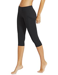 Amazon.com: Baleaf Women's Yoga Workout Leggings Side Pocket for ...