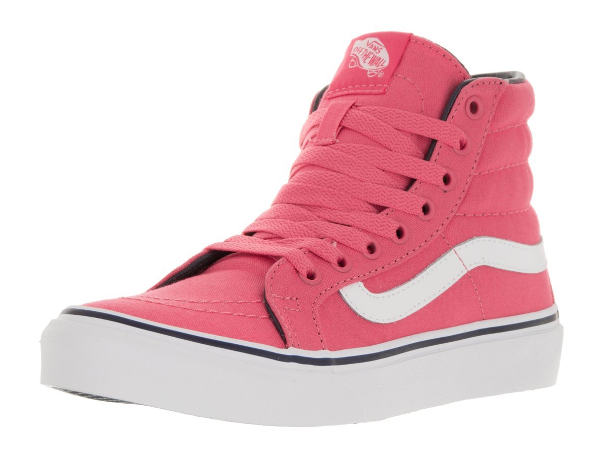 Vans Unisex Sk8-Hi Slim Women's Skate Shoe B019KYKZVA 9.5 M US Women / 8 M US Men|Rose Parisian Night Pink