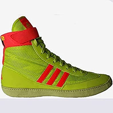 adidas wrestling shoes. adidas combat speed 4 youth wrestling shoes solar yellow/solar red size 1.5