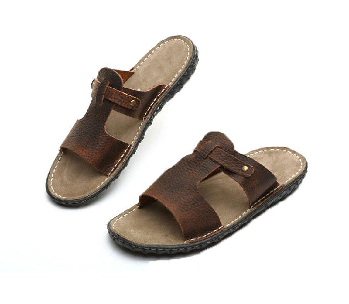 Hausschuhe Sandalen Männer und Hausschuhe Sommer Männer Männer Sandalen Strand Hausschuhe Braun 4d03da