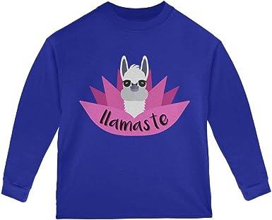 Old Glory Funny Llamaste Yoga Llama Namaste Mens Sweatshirt