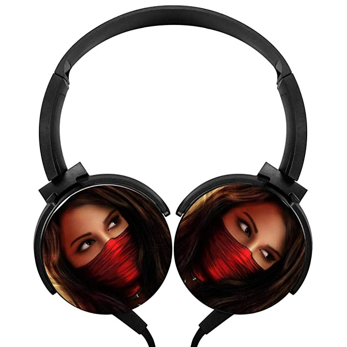 Amazon.com: POP Female Ninja Cover Wired Stereo Portable ...