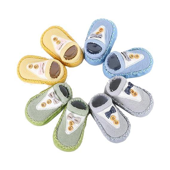 Zolimx 4 Pares Calcetines Niños, ❤ Bebé Recién Nacido Niñas ...
