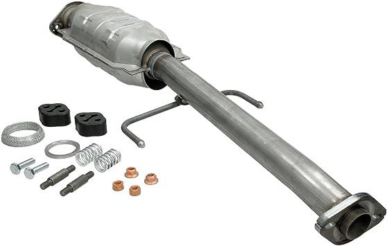 inkl Montageteile : 750 mm ECD Germany Kat-209 Katalysator Kat L/änge Auspuff Abgasanlage