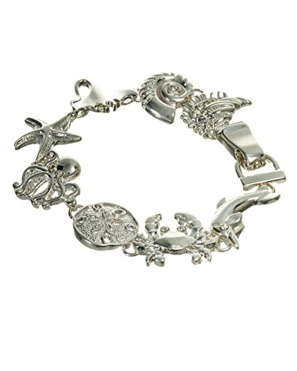 bdf2a7447a4 Amazon.com: Jewelry Nexus Sand Dollar Star Fish Octopus Crab Manta ...