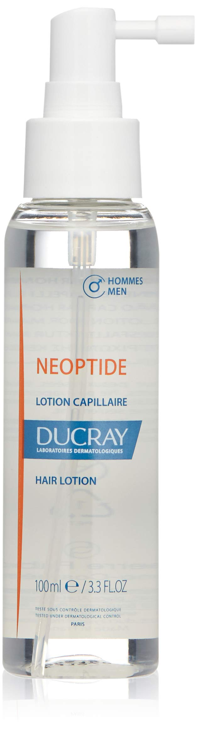 Ducray Neoptide Hair Lotion MEN, Chronic, Progressive Thinning Hair Treatment Spray, Reduces Appereance of Hair Loss, 3 x  1 oz. by Ducray