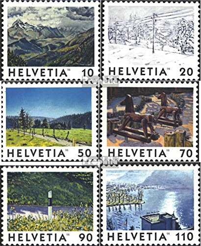 Switzerland 1643-1648 (Complete.Issue.) 1998 Images The Switzerland (Stamps for Collectors) Landscapes