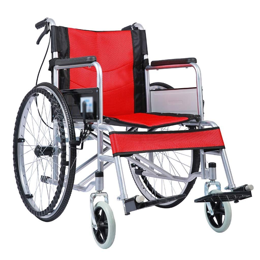 Amazon.com: YE ZI Silla de ruedas manual – sillas de ruedas ...