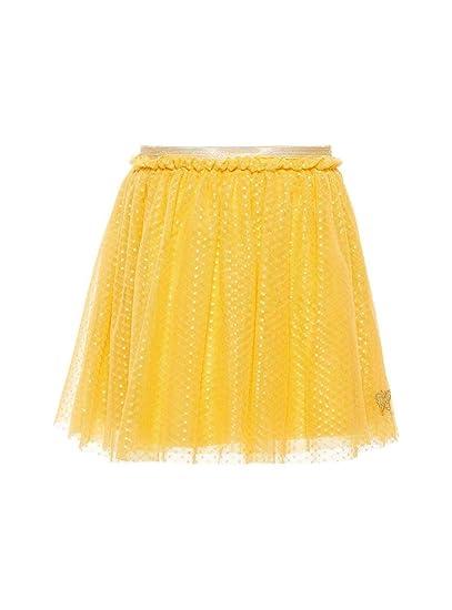 NAME IT Falda Finice Amarillo para Niña 122 Amarillo: Amazon.es ...