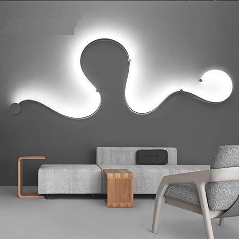 Lampada da Parete Fotografia semplice parete camera da letto ...