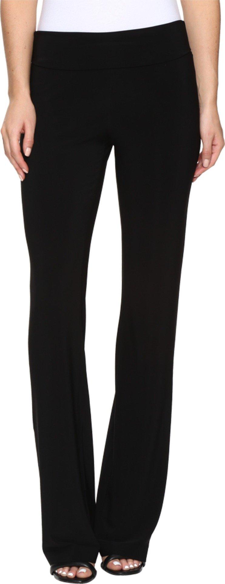 KAMALIKULTURE by Norma Kamali Women's Boot Pants Black Pants