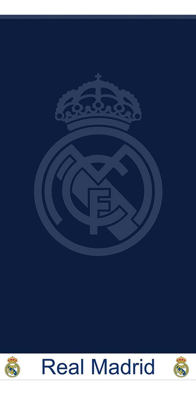 SECANETA Real Madrid blau Mikrofaser Badetuch/Strandtuch 75 x 150 cm REALMADRID C.F. MS4285 12415.000_Azulón-80 x 160