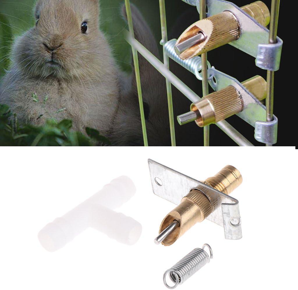 Xuniu Automatic Nipple Waterer Drinker Rabbitt Guinea Pig Ferret Rat Mouse Water Feeder Watering System