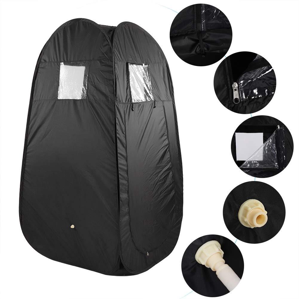 Sauna Portable Asixx Cabine de Sauna 2L Machine /à Sauna Sauna Portable /à Vapeur avec Tente et T/él/écommande pour Spa Personnel Th/érapie Amincissant et Sauna /à La Maison