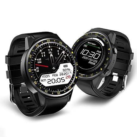 Feiledi - Reloj Inteligente Bluetooth con Tarjeta SIM y Ranura para Tarjeta de Memoria, Compatible con Apple iPhone, Samsung, Huawei, Sony, Motorola, LG, ...