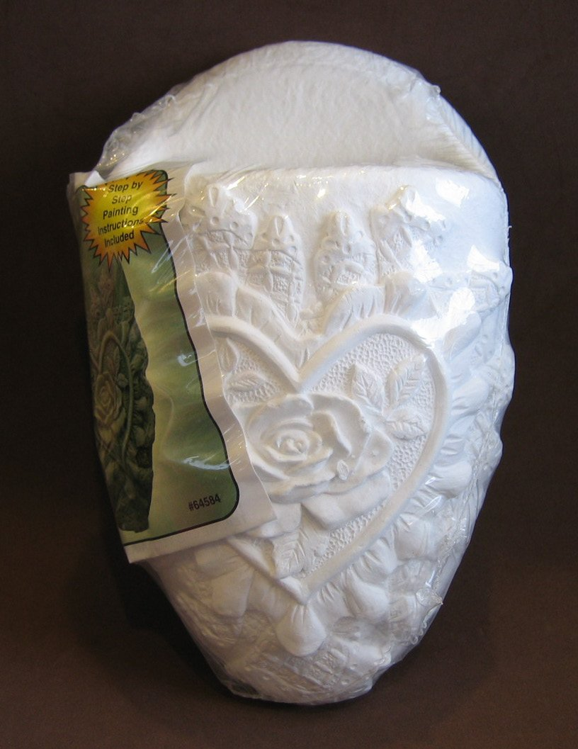 Wee Crafts 1 Quality PLASTER Ceramic WALL SCONCE