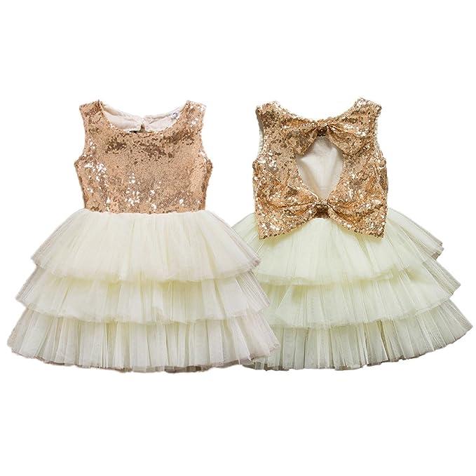 Amazon.com: IIYoYo Toddler <b>Baby Girls Kids</b> Party <b>Wedding</b> ...