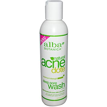 Alba Botanica, Acne Dote, Deep Pore Wash, Oil-Free, 6 fl oz(pack of 4) SkinChemists Coldtox Look Perfect Medium Kit, 40 Gram.