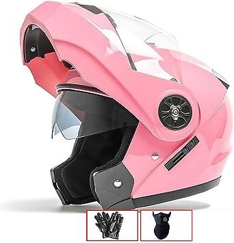 LALEO Casco Moto Modular Integral Casco Moto Abierto, para Hombres ...