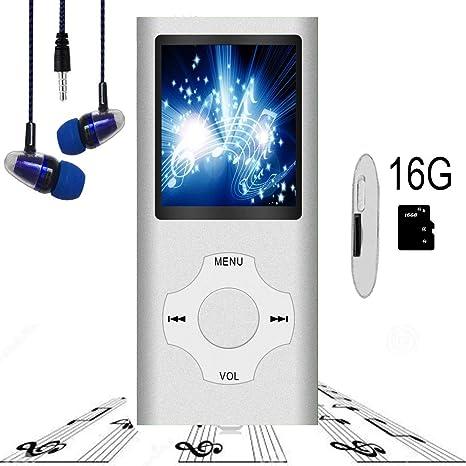 Amazon.com: Hotechs - Reproductor MP3, sonido Hi-Fi con ...
