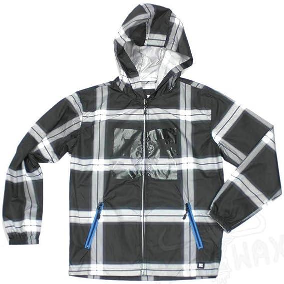 DC infantil con forma de palo de golf para niños Glacier Windbreaker chaqueta de hípica para niños en color negro - con funda impermeable para de pared para ...
