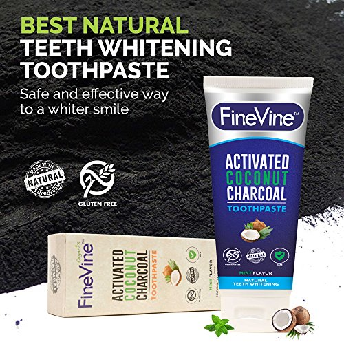Косметика Activated Charcoal Teeth Whitening Toothpaste