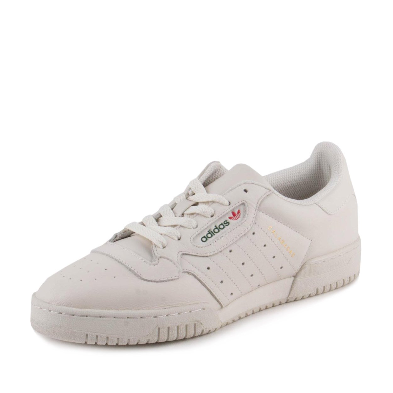 3d1d8bbae Galleon - Adidas Mens Yeezy Powerphase Calabasas Cream White Leather Size 8