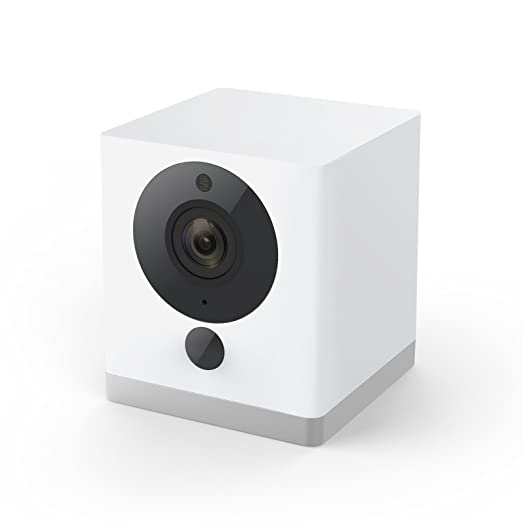 Wyze Cam 1080p HD Indoor Wireless Smart Home Camera with Night Vision,  2-Way Audio, White
