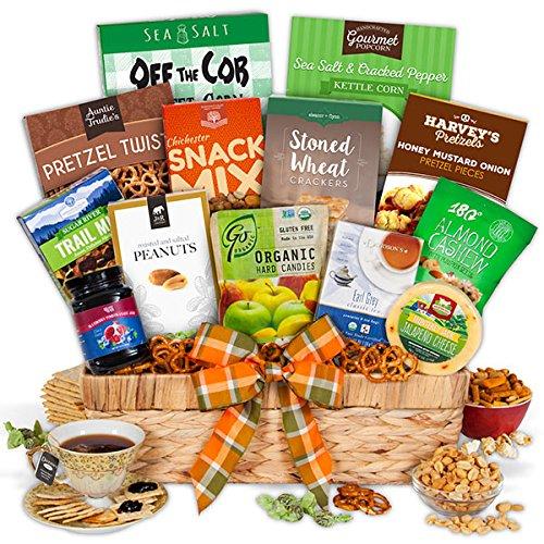 Healthy Gift Basket - Premium by GourmetGiftBaskets.com