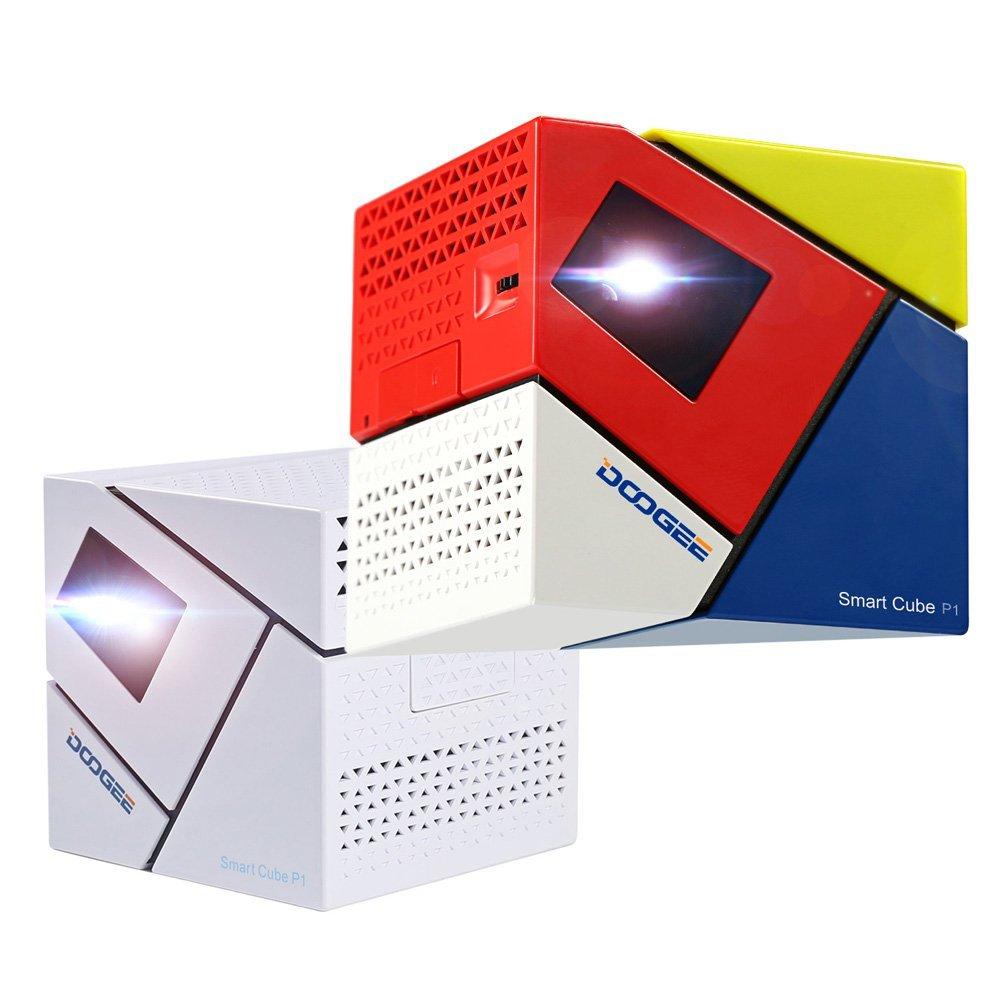 DOOGEE Cube P1 - Mini Proyector LED Android 4.4 Amlogic Quad Core ...