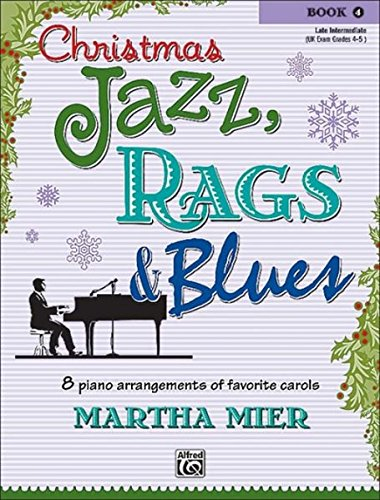 Christmas Jazz, Rags & Blues, Book 4 Christmas Jazz Sheet Music