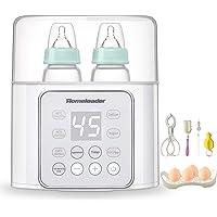 Homeleader Calentador de biberón para bebé, 6 en 1, calentador de leche y descongelación sin BPA, calentador de…
