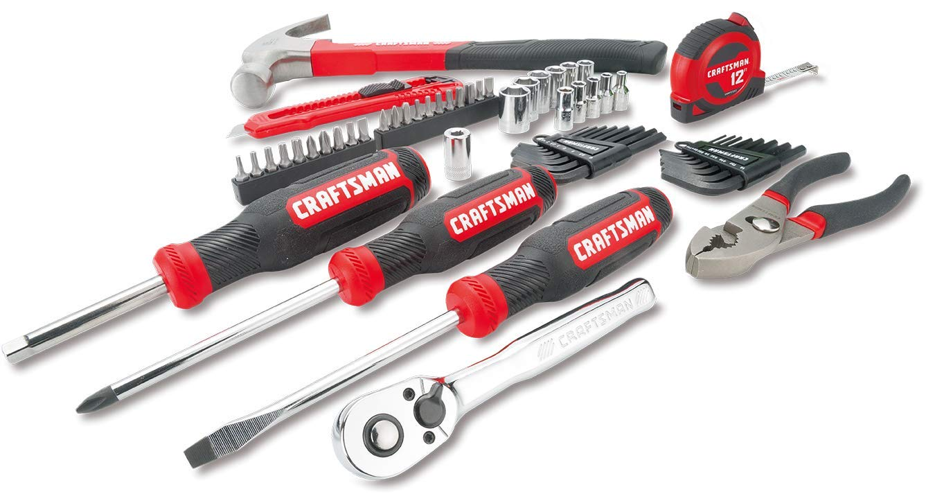 CRAFTSMAN Mechanics Tools Kit / Socket Set, 57-Piece (CMMT99446)