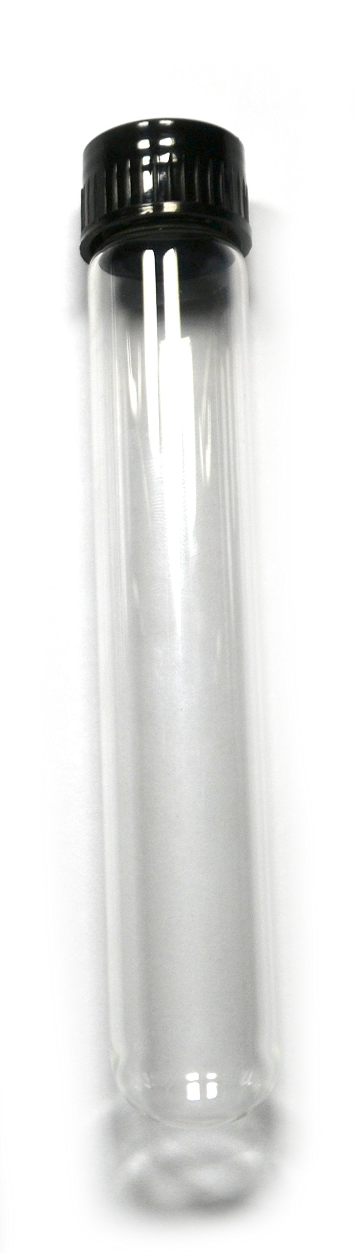 Eisco Labs Test Tube with Cap 25 x 150mm Approx (6'' Height) Pack of 12