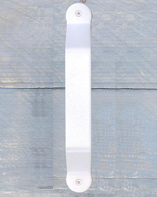 Tirador de puerta Montana, color blanco, de acero inoxidable pulverizado.: Amazon.es: Bricolaje y herramientas