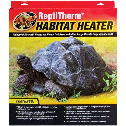 Zoo Med Laboratories SZMRH20 40-Watt Repti Therm Habitat Heater TopDawg Pet Supply 976195