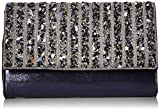 Jessica McClintock Nora Sparkle and Shine Clutch, Navy