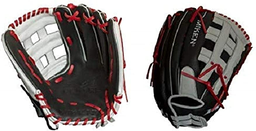"Miken Pro Series 13/"" PRO130-WSN slowpitch Softball Glove-Main Droite lance"