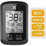 XOSS Bike Computer G+ Wireless GPS Speedometer Waterproof Road Bike MTB Bicycle Bluetooth ANT+ with Cadence Cycling…