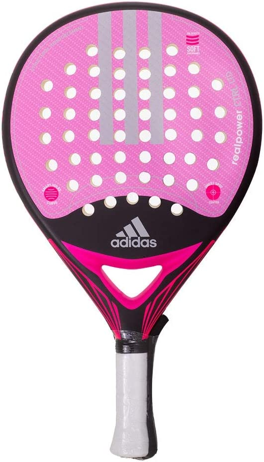 Pala De Padel Adidas Real Power Ctrl 1,8 Mujer: Amazon.es ...
