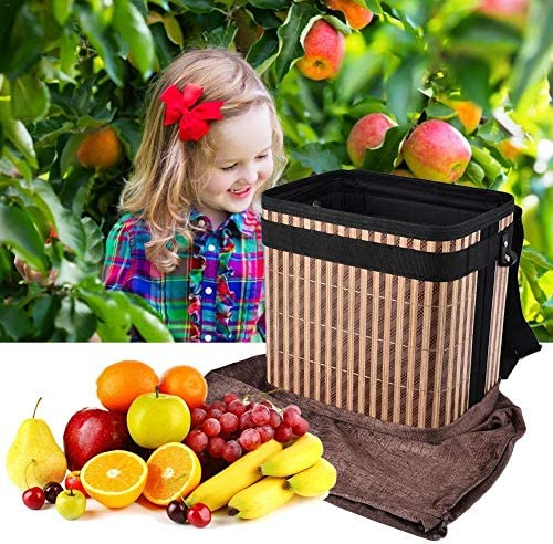 Garden Apron Picking Pail Bucket Harvesting Bucket Fruit Picking Bag Picking Apron Garden Picking Apron with Strap XXYHYQHJD