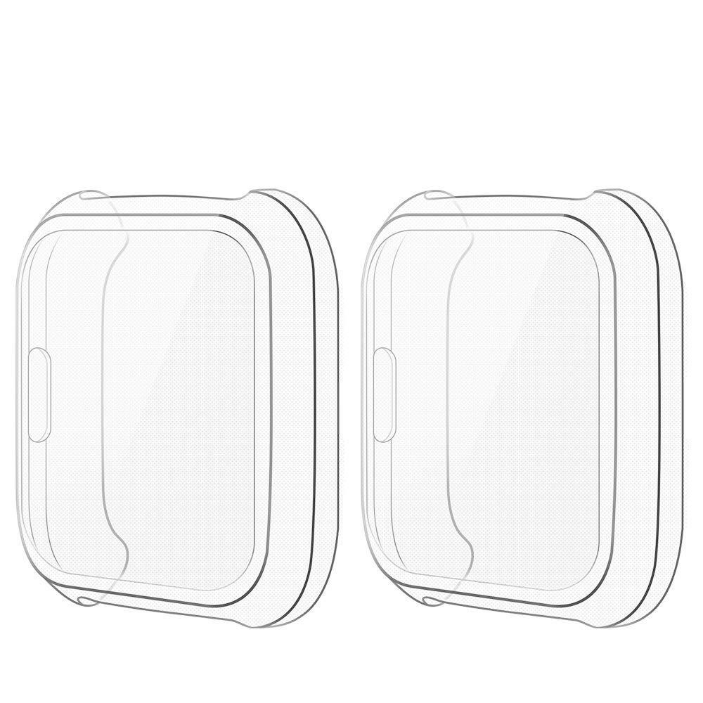 Funda Transparente Para Reloj Fitbit Versa Lite Edition (x2)